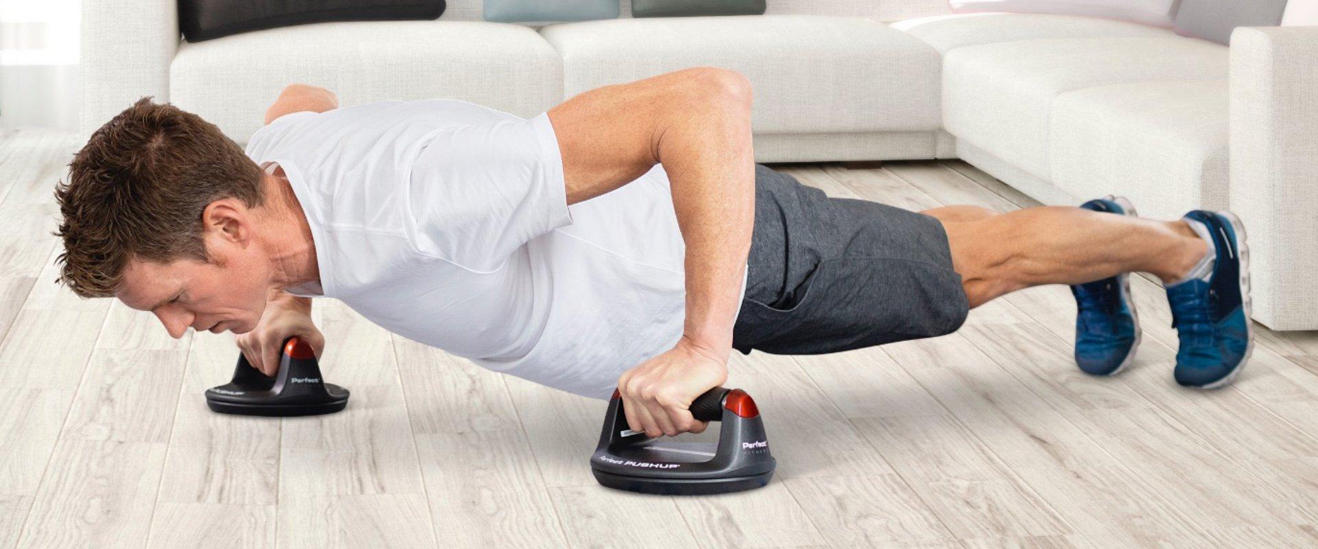 Программа тренировок с поворотными упорами для отжиманий