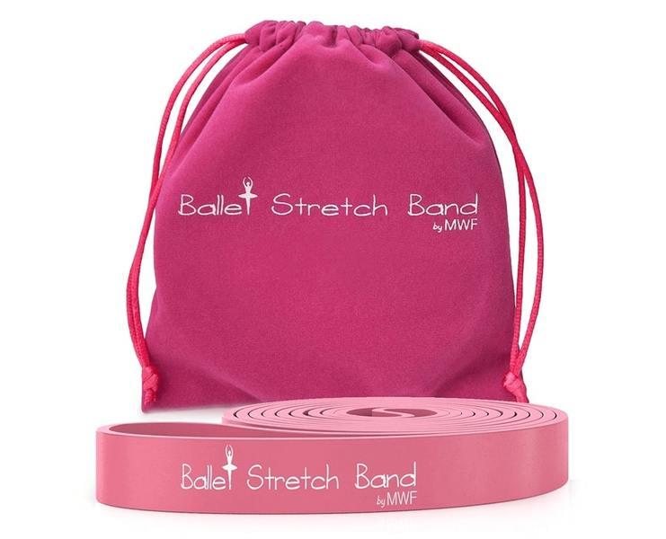 Гимнастическая лента Ballet Stretch Band (розовая)