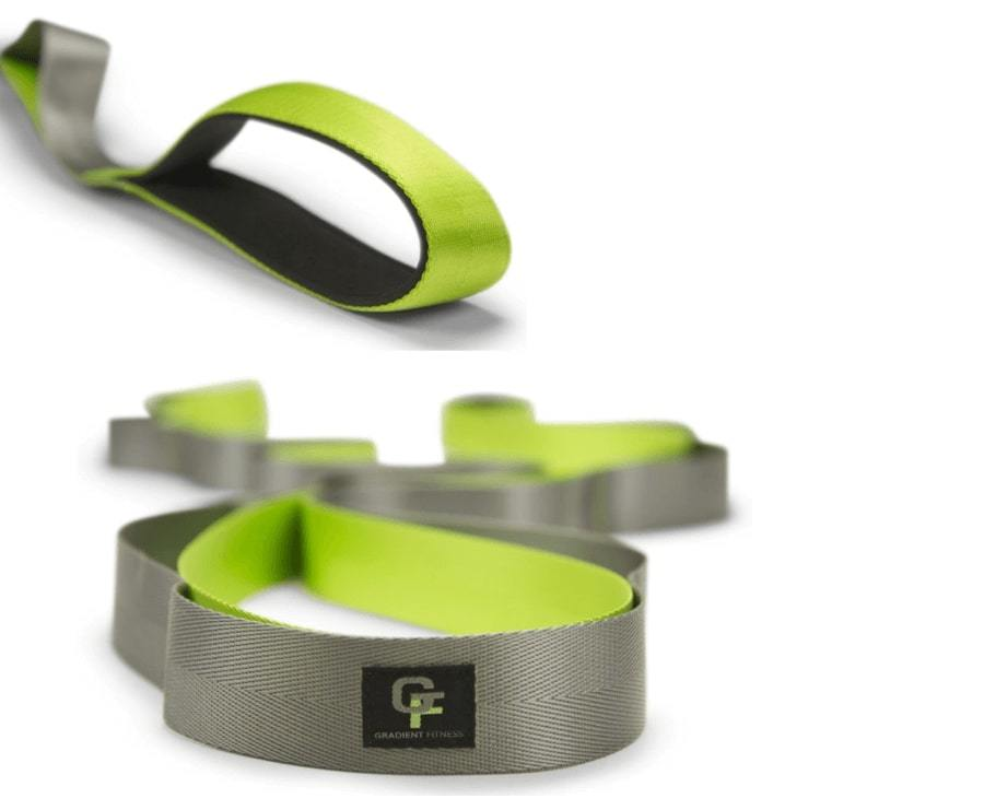 Ремень с петлями для растяжки Gradient Fitness Stretch Strap