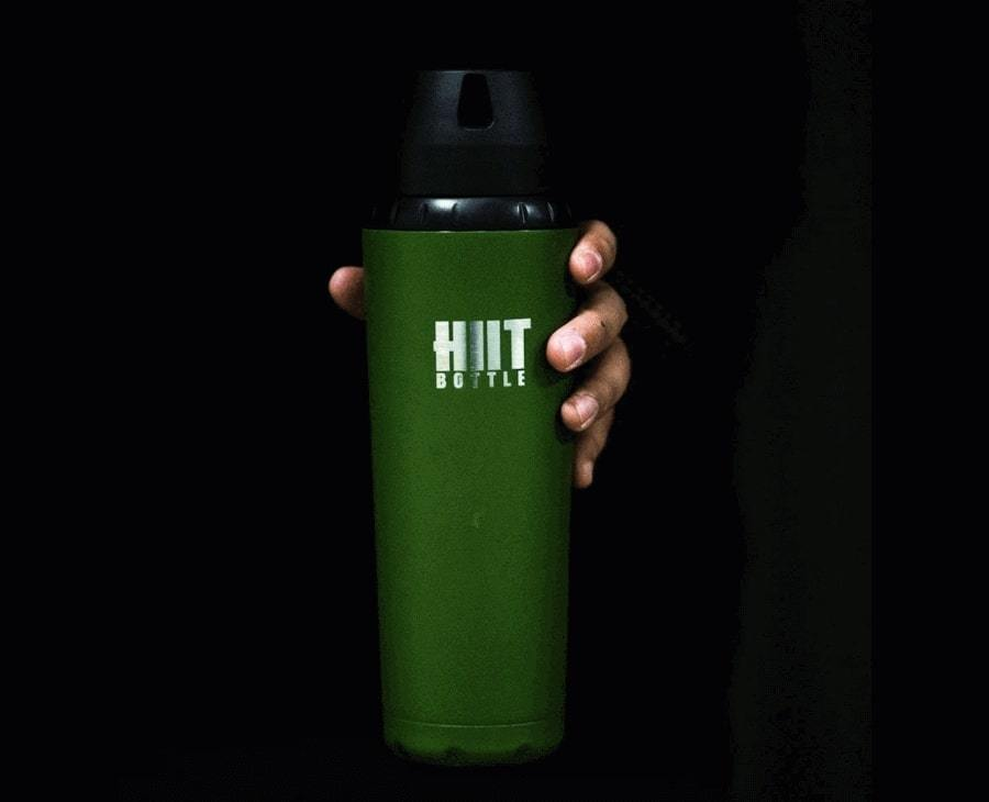 Бутылка (шейкер) HIIT BOTTLE (Military Matte Green)