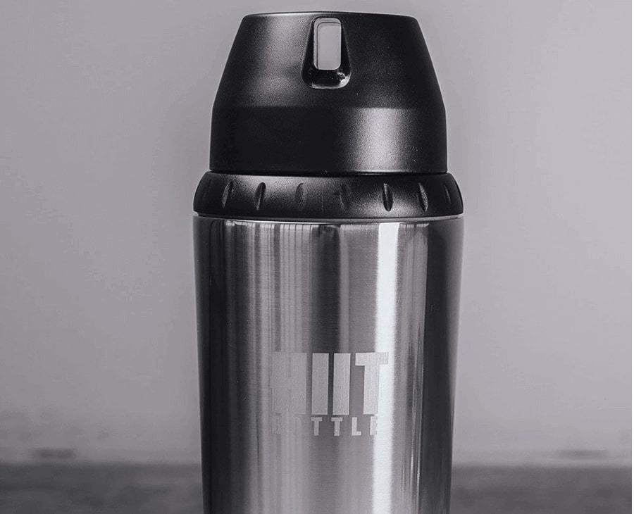 Бутылка (шейкер) HIIT BOTTLE (Silver)