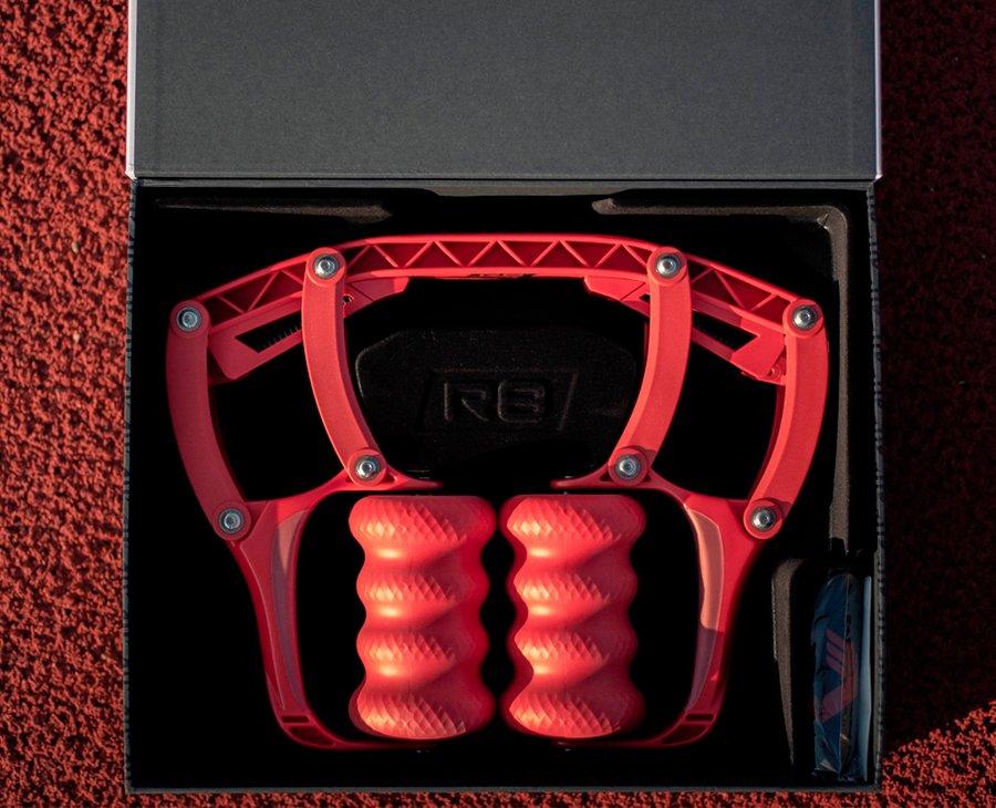 Массажер ROLL Recovery R8 (Lava Red)