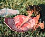 Спортивный коврик ROLL Recovery StretchMat Rose (Red)
