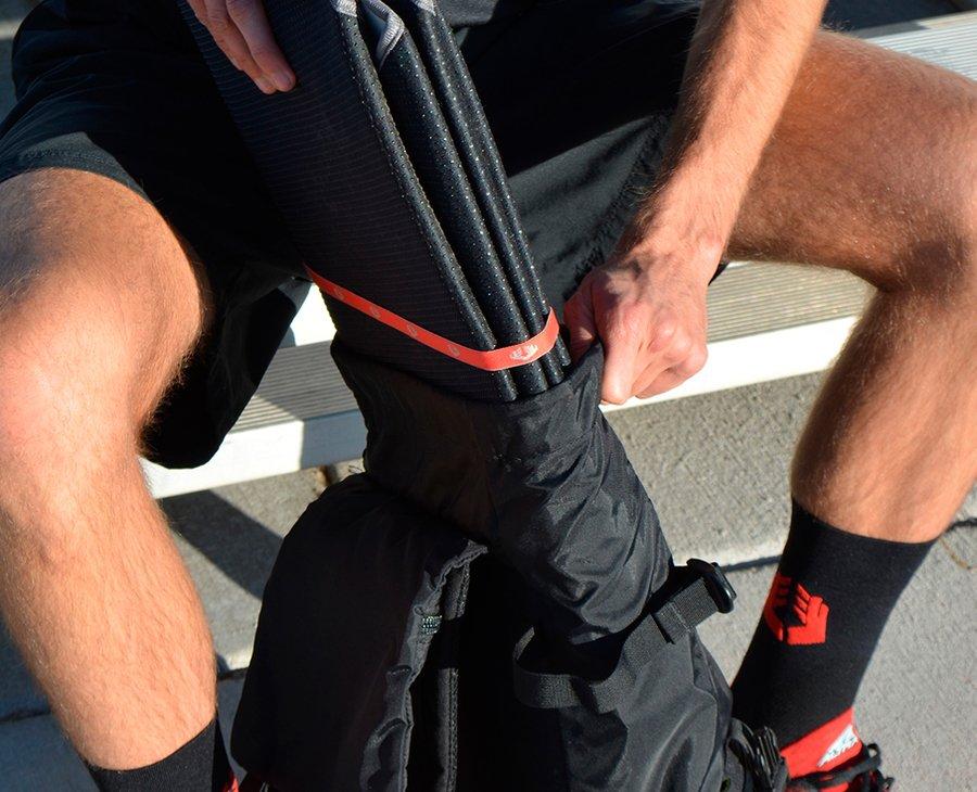 Спортивный коврик ROLL Recovery StretchMat Sea Salt (Light Gray)