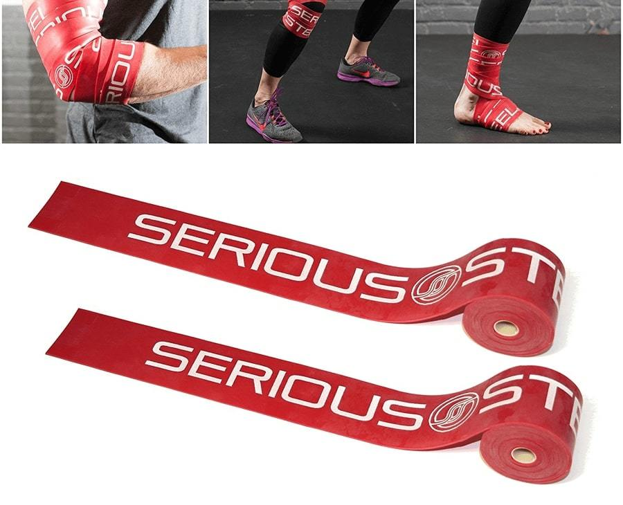 Компрессионная лента от Serious Steel Red (Heavy)