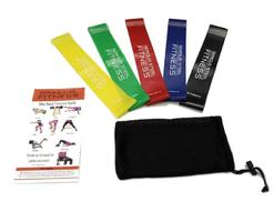 Комплект резиновых петель Serious Steel Fitness Mini Loop Resistance Bands